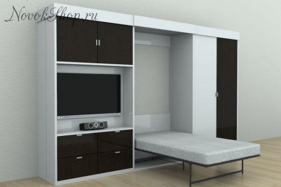 Шкаф-кровать трансформер ALIAS